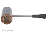 Nording Compass Macarthur Brown Rustic Tobacco Pipe Bottom