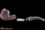 Rossi Rubino Antico 606 Smooth Tobacco Pipe Apart