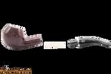 Rossi Rubino Antico 673 Smooth Tobacco Pipe Apart