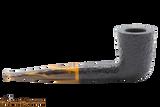 Savinelli Tigre Rustic Black 409 Tobacco Pipe Right Side