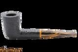 Savinelli Tigre Rustic Black 409 Tobacco Pipe