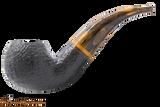 Savinelli Tigre Rustic Black 642 Tobacco Pipe