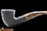 Savinelli Tigre Rustic Black 920 KS Tobacco Pipe