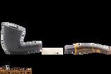 Savinelli Tigre Rustic Black 920 KS Tobacco Pipe Apart