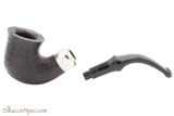 Peterson Standard System Sandblast 305 Tobacco Pipe PLIP Apart