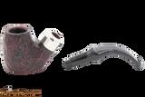 Peterson Standard System Sandblast 304 Tobacco Pipe PLIP Apart