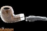 Peterson Sherlock Holmes Dark Smooth Strand Tobacco Pipe PLIP Apart