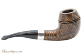 Peterson Sherlock Holmes Dark Smooth Deerstalker Tobacco Pipe PLIP Right Side