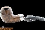 Peterson Sherlock Holmes Dark Smooth Deerstalker Tobacco Pipe PLIP Apart