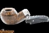 Peterson Sherlock Holmes Dark Smooth Squire Tobacco Pipe PLIP Apart