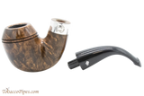 Peterson Sherlock Holmes Dark Smooth Baskerville Tobacco Pipe PLIP Apart