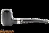Peterson Specialty Barrel Ebony Silver Mounted Tobacco Pipe PLIP