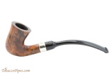 Peterson Specialty Calabash Smooth Nickel Mounted Tobacco Pipe Fishtail