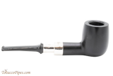 Peterson Ebony Spigot 107 Tobacco Pipe Fishtail Right Side