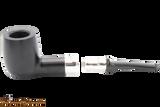 Peterson Ebony Spigot 107 Tobacco Pipe Fishtail Apart