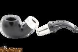 Peterson Ebony Spigot 03 Tobacco Pipe Fishtail Apart