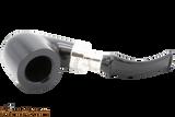 Peterson Ebony Spigot 01 Tobacco Pipe Fishtail Top