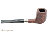 Peterson Aran 265 Smooth Nickel Mounted Tobacco Pipe Fishtail Right Side