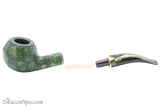 Savinelli Alligator 673 KS Green Tobacco Pipe Apart