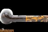 Savinelli Tigre 114 KS Smooth Dark Brown Tobacco Pipe Bottom