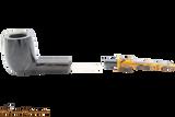 Savinelli Tigre 114 KS Smooth Dark Brown Tobacco Pipe Apart