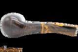 Savinelli Tigre 645 KS Smooth Dark Brown Tobacco Pipe Bottom