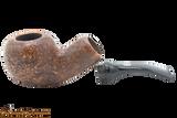 Chacom Reverse Calabash Sandblast Brown Tobacco Pipe Apart