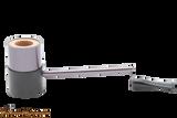 Nording Compass Gunmetal Tobacco Pipe Apart