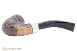 Peterson Arklow Sandblast 338 Tobacco Pipe Fishtail Bottom