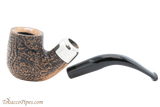 Peterson Arklow Sandblast 338 Tobacco Pipe Fishtail Apart