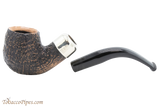 Peterson Arklow Sandblast 221 Tobacco Pipe Fishtail Apart