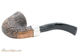 Peterson Arklow Sandblast 05 Tobacco Pipe Fishtail Bottom