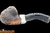 Peterson Arklow Sandblast 05 Tobacco Pipe Fishtail Bottom