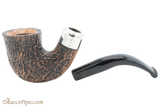 Peterson Arklow Sandblast 05 Tobacco Pipe Fishtail Apart