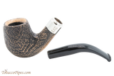 Peterson Arklow Sandblast 69 Tobacco Pipe Fishtail Apart