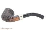 Peterson Arklow Sandblast B10 Tobacco Pipe Fishtail Bottom