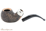 Peterson Arklow Sandblast XL02 Tobacco Pipe Fishtail Apart