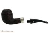 Peterson Sherlock Holmes Sandblast Deerstalker Tobacco Pipe PLIP Apart