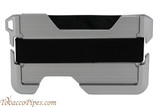 Beyler The New-Fashioned RFID Blocking Slim Metal Wallet Black Back