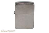 Zippo 1941 Replica Black Ice Zippo Logo Lighter Back