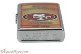 Zippo NFL San Francisco 49ers Lighter Back