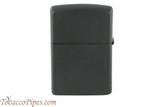 Zippo Gaming Flame Black Matte Lighter Back