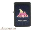 Zippo Gaming Flame Black Matte Lighter