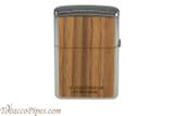 Zippo Woodchuck USA Walnut Lighter Back