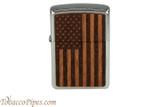 Zippo Woodchuck USA American Flag Lighter