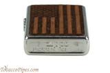 Zippo Woodchuck USA American Flag Lighter Bottom