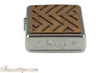 Zippo Woodchuck USA Herringbone Lighter Bottom
