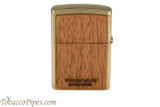 Zippo Woodchuck USA Zippo Flame Lighter Back