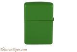 Zippo Moss Green Matte Lighter Back