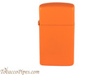 Zippo Slim Orange Matte Lighter